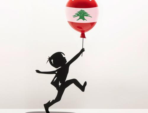 Hope with Lebanese Flag